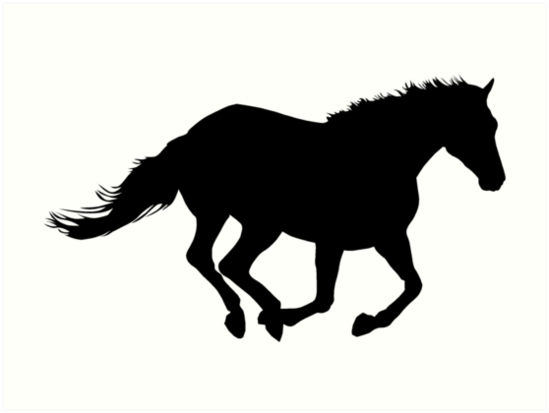549x413 Running Horse Black Silhouette Black Horsie Powerful Horse Run