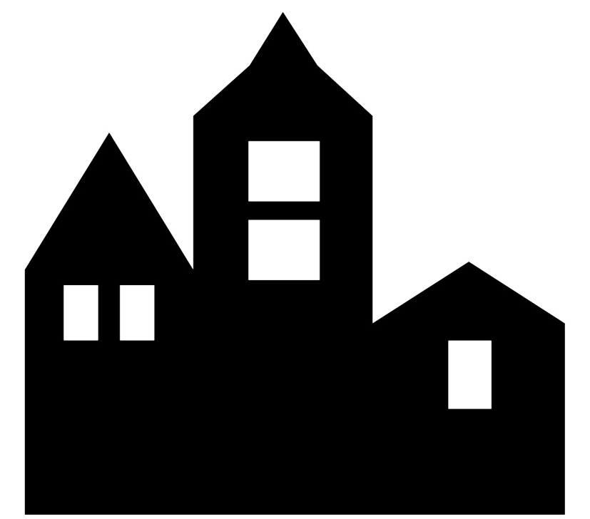 827x728 Cool Victorian House Silhouette House Style Design Victorian