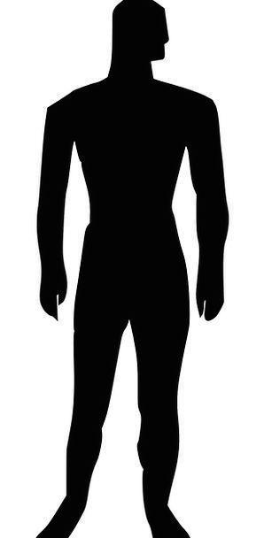 298x608 Man, Gentleman, Outline, Male, Masculine, Silhouette, Figure