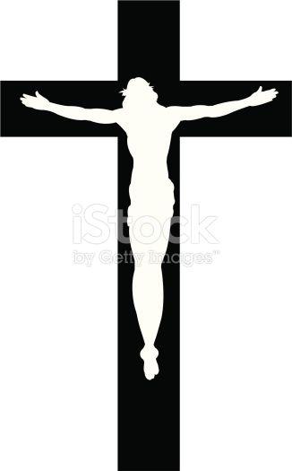 326x525 Stock Illustration 7441850 Cross With Jesus Christ Cristian