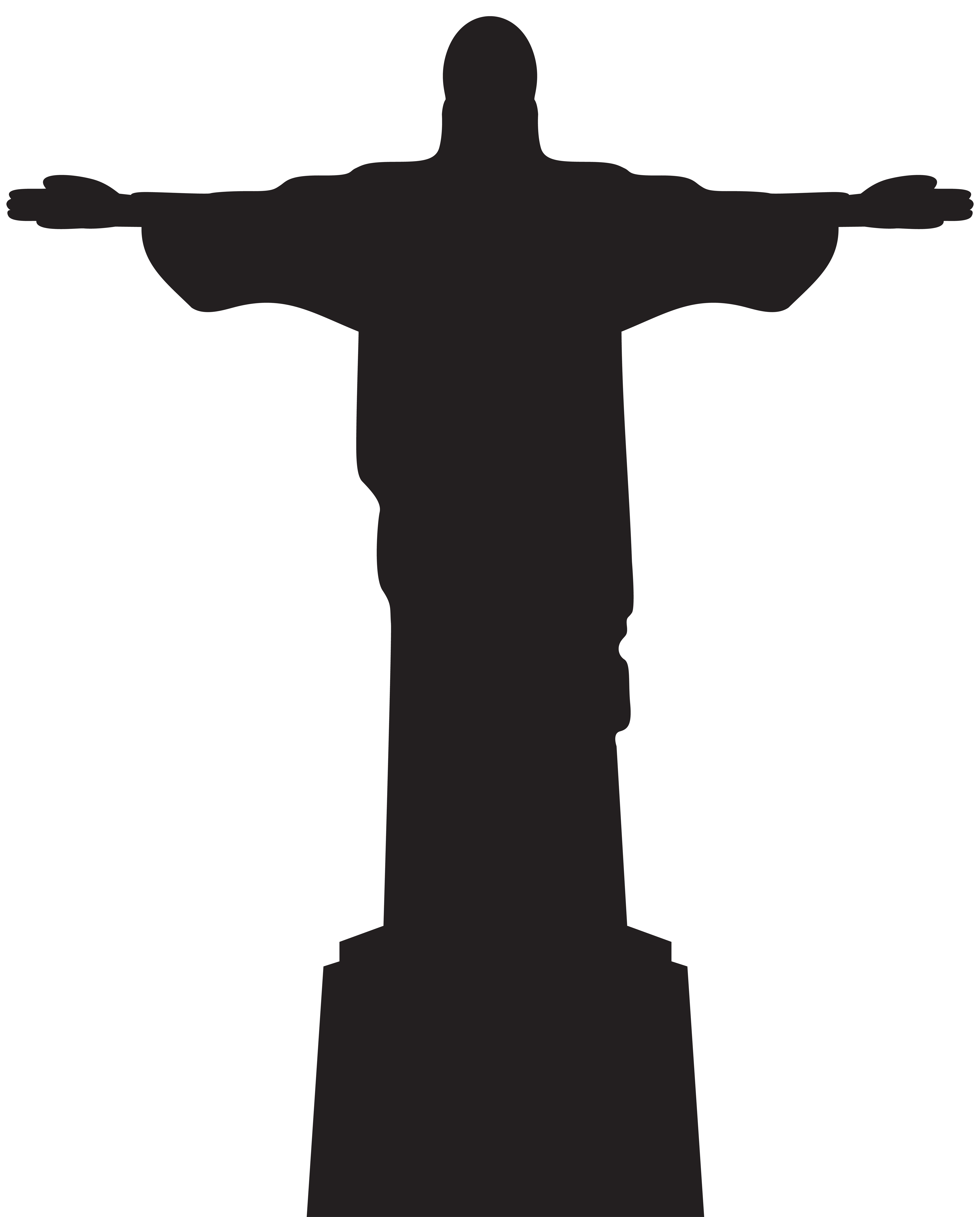 6443x8000 Jesus Christ Statue Silhouette Png Clip Artu200b Gallery