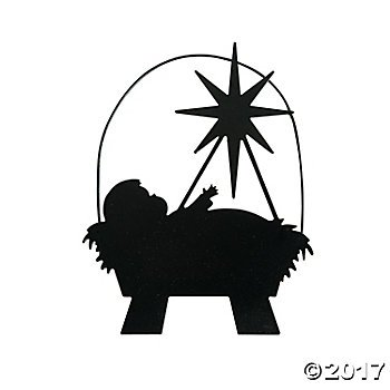 Silhouette Of Jesus Christ