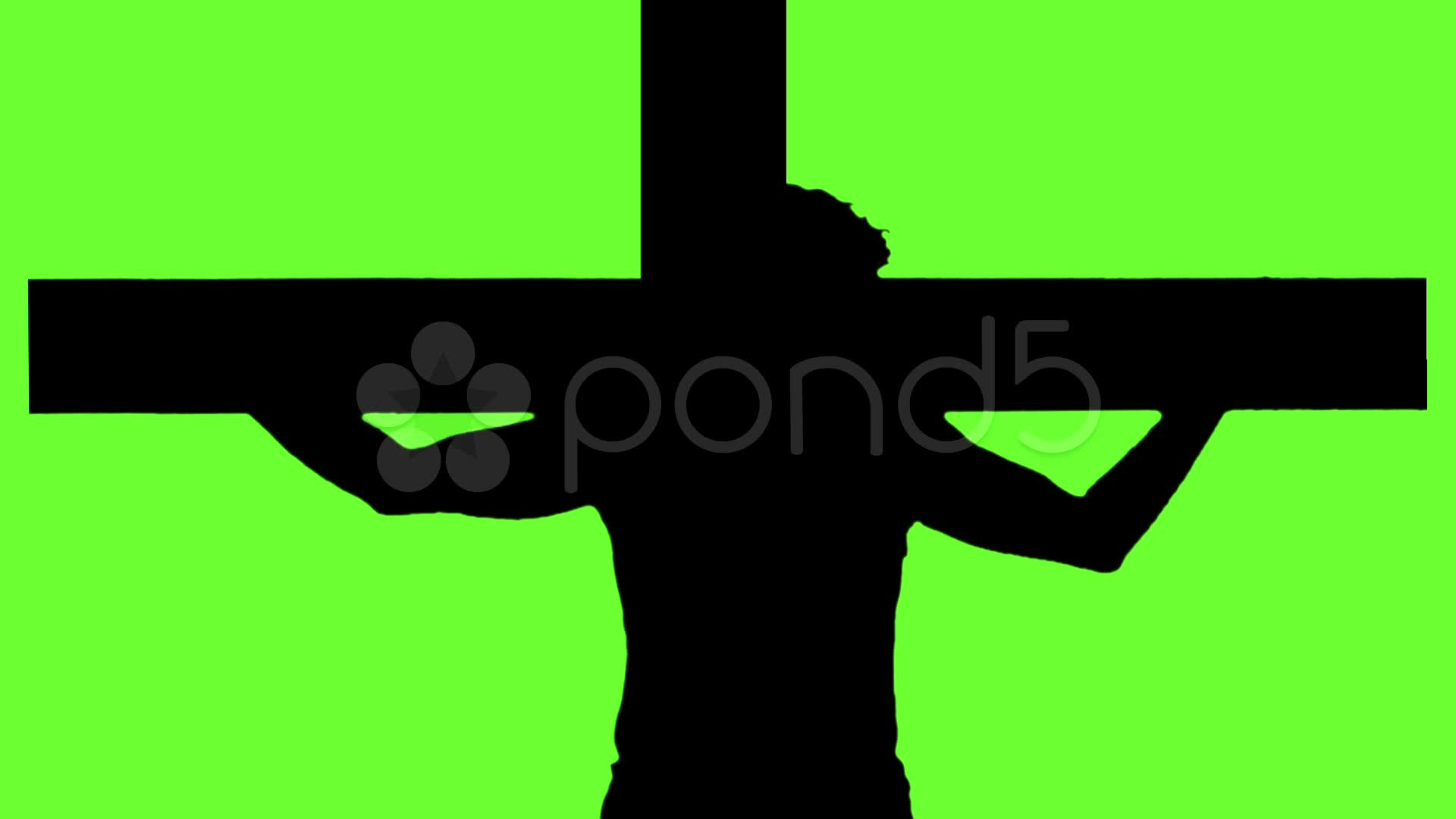 Silhouette Of Jesus On The Cross at GetDrawings.com | Free for ...