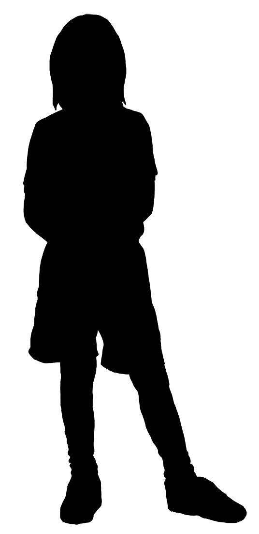 536x1102 Silhouettes Of Children