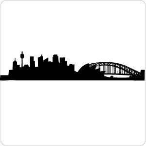 300x300 Sydney City Skyline Clipart