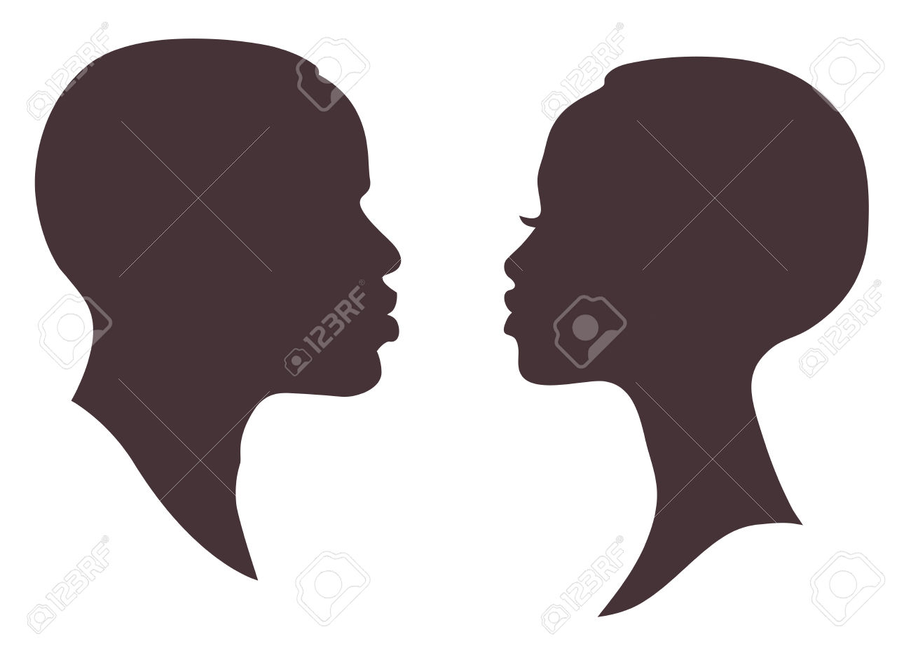 1300x926 Free Clipart Silhouette Man And Woman