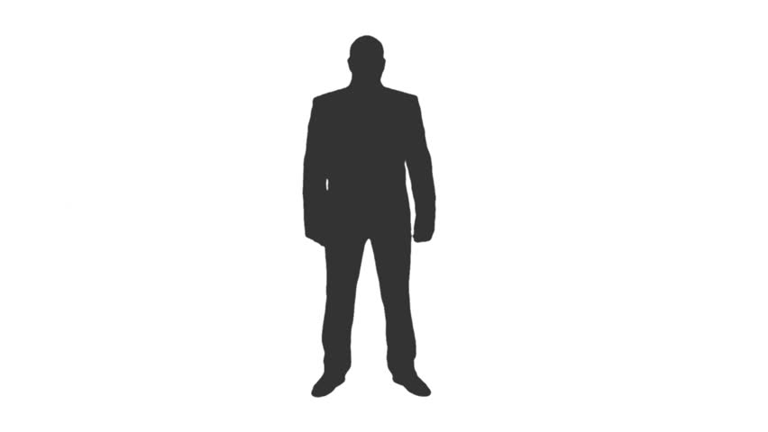 852x480 Incoming Call Mobile Phone Silhouette Man