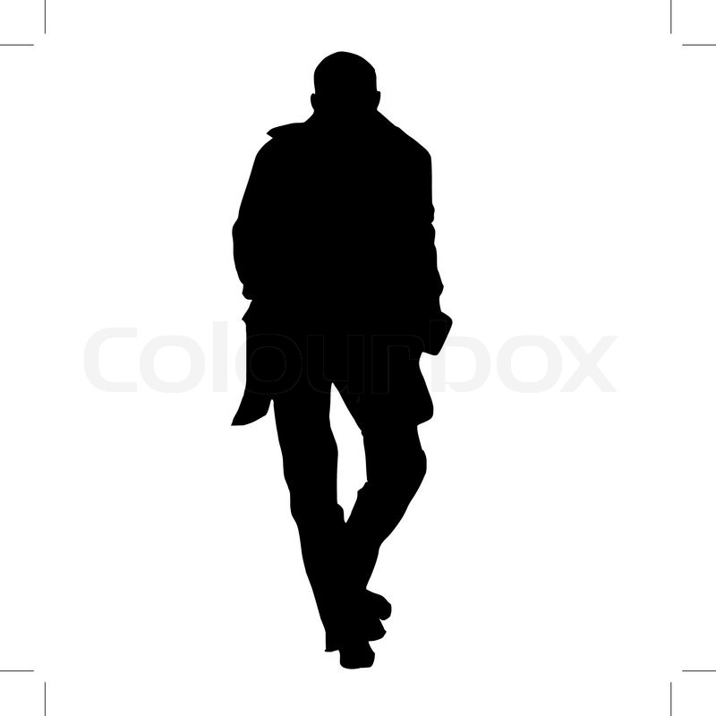 800x800 Man In A Suit With Bow Silhouette Wallpaper. Man In Suit Bows Hat