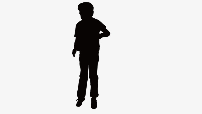650x366 Man Standing, People Standing Silhouette, Silhouette Figures Png