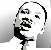 165x162 Martin Luther King Memorial Clipart