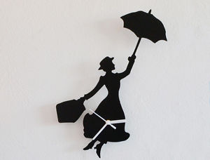 300x228 Mary Poppins Silhouette
