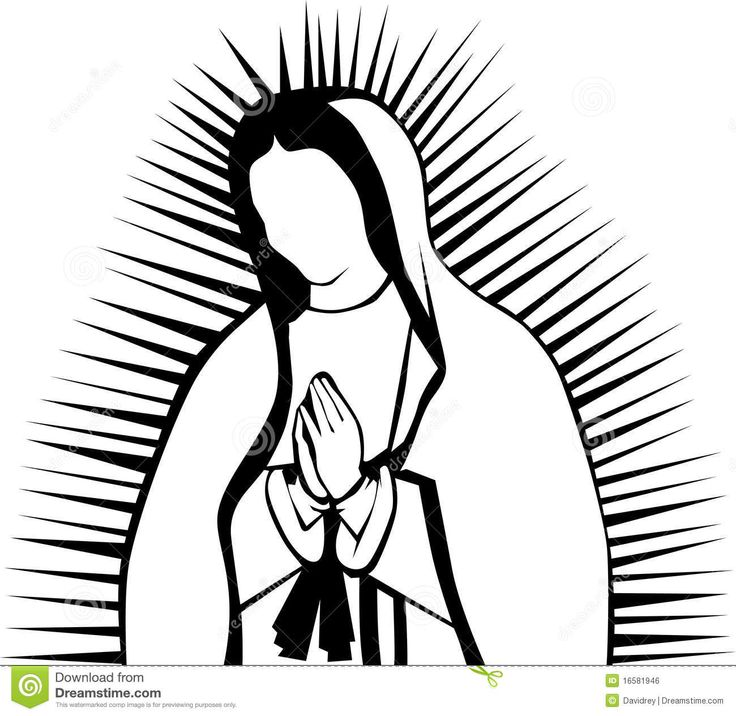 736x716 Holy Virgin Mary Clipart