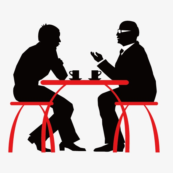 568x568 Silhouette Of Two Men Eat, Two Men, Eat, Sketch Png And Vector