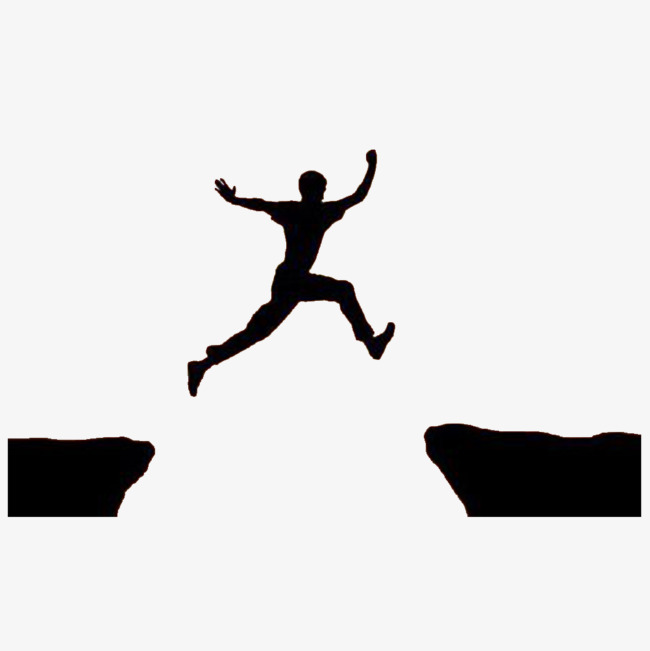 650x651 The Jumping Man, Struggling Man, A Leaping Man, Silhouette For Men