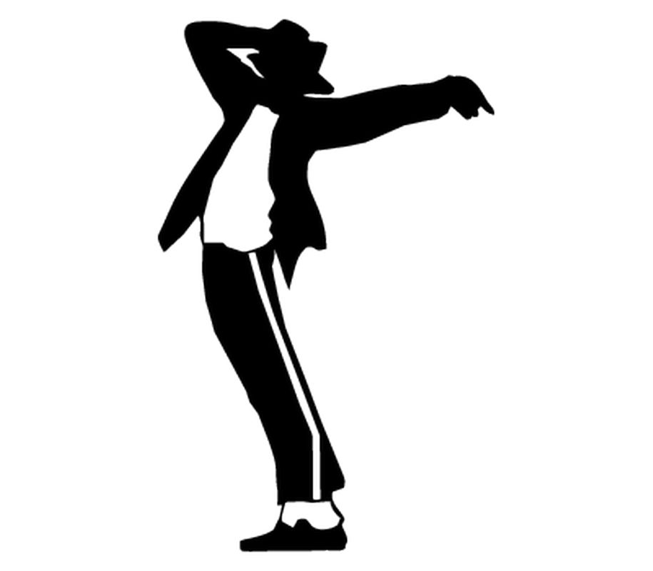silhouette of michael jackson at getdrawings com free for personal rh getdrawings com michael jackson dance clip art michael jackson glove clipart
