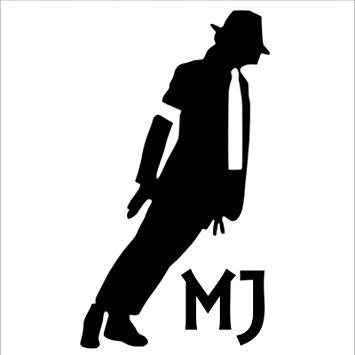 355x355 Michael Jackson Smooth Criminal,moonwalker Sticker Car,van,boat