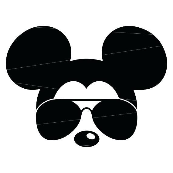 570x570 Mickey Head Outline