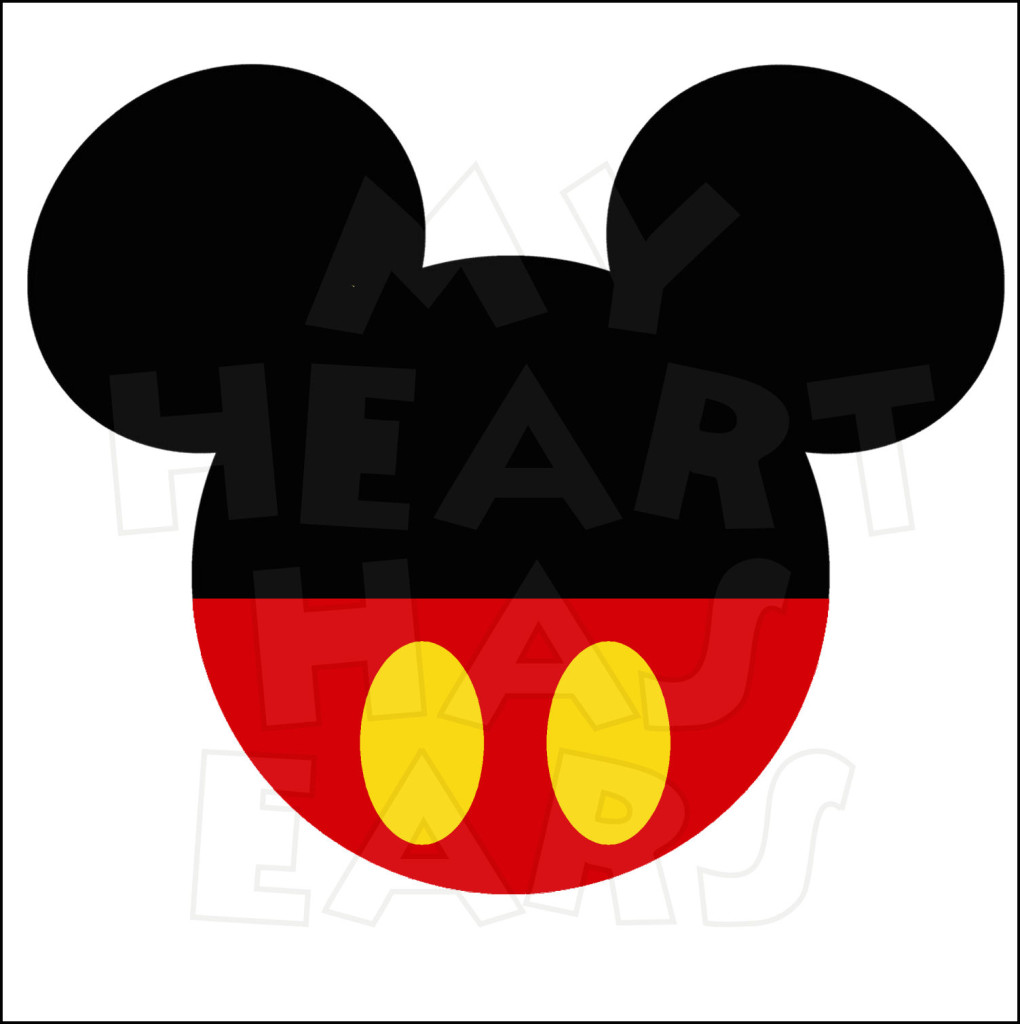silhouette of mickey mouse head at getdrawings com free for rh getdrawings com mickey mouse ears clip art free mickey ears clip art free