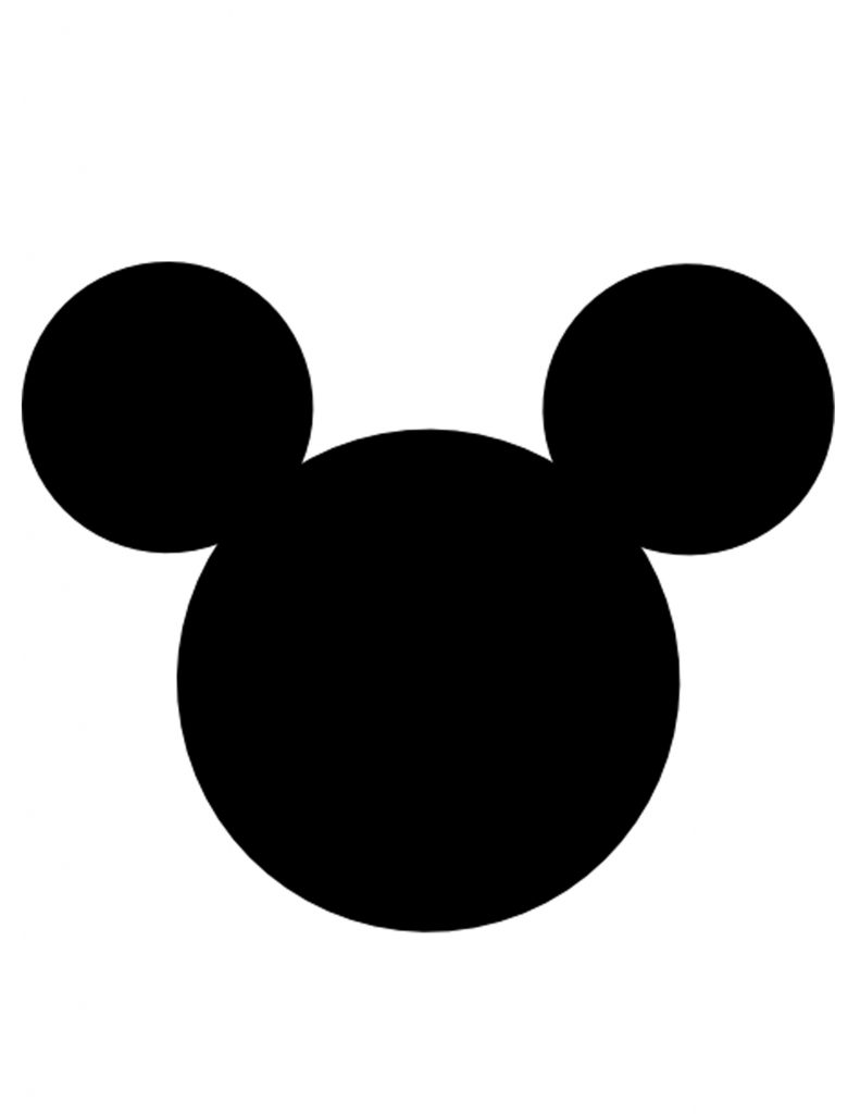 791x1024 Mickey Mouse Silhouette Coloring Pages New Mickey Mouse Head