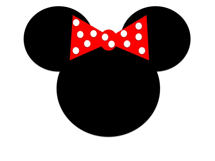 720x540 Minnie Mouse Head Template. Mickey Template For Disney T Shirts