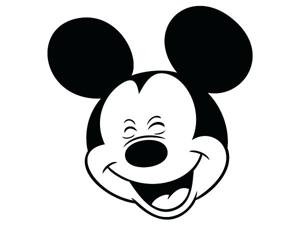 600x450 Or Masks Free Coloring Pages Part 2 Mickey Mouse Face Outline