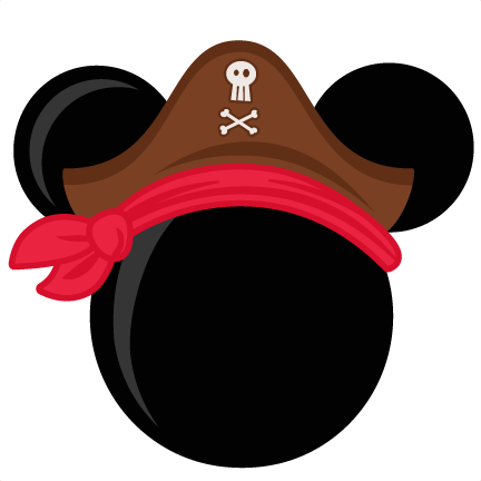 432x432 Pirate Mouse Head Freebies Free Svg Files For Scrapbooking Free