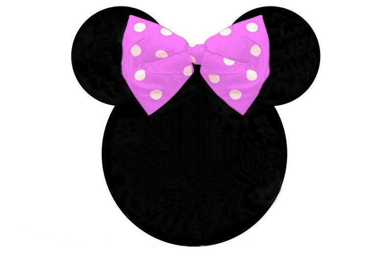 798x558 Minnie Mouse Head Clipart