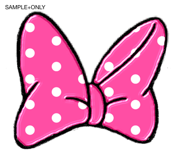 350x305 Minnie Mouse Bow Template Silhouette Clipart Sufficient