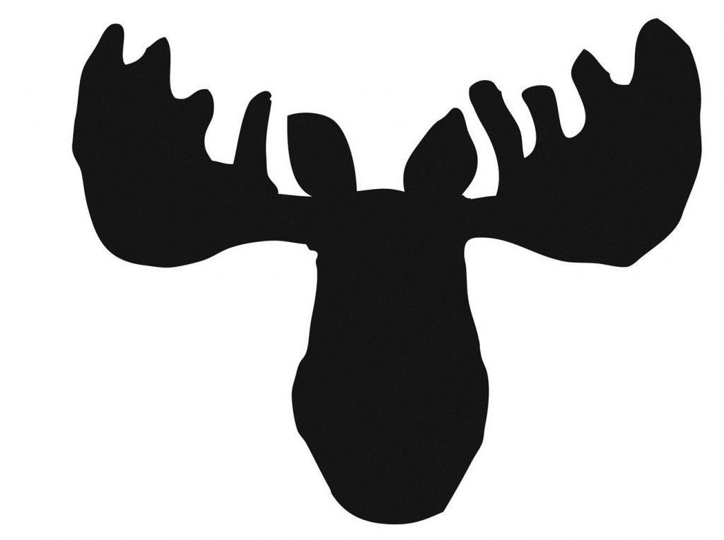 1024x763 Moose Pumpkin Stencil Halloween, Autumn Amp Thanksgiving