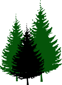 219x300 Wood Clipart Mountain Tree