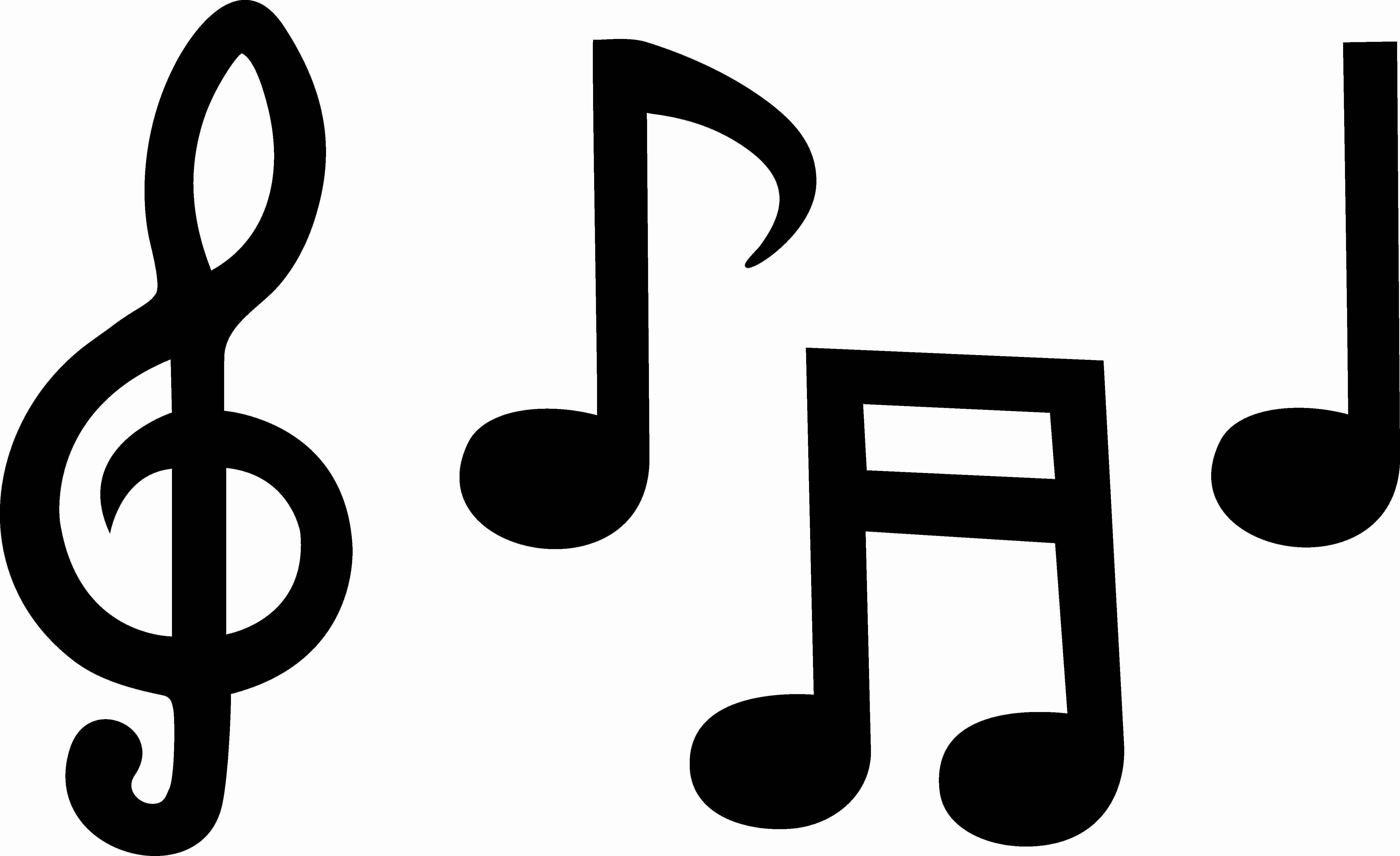 silhouette of music notes at getdrawings com free for personal use rh getdrawings com musical note vector image free musical note vector image free