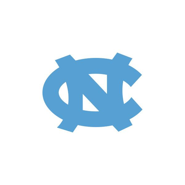 600x600 File University Of North Carolina Tarheels Interlocking Nc Logo