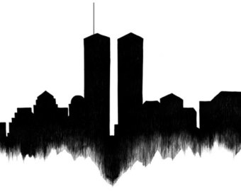 340x270 New York Skyline Silhouette Png