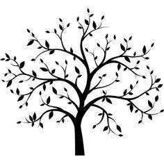 236x236 Oak Tree Silhouette Tree Isolated Vector Wire Tree Ideas