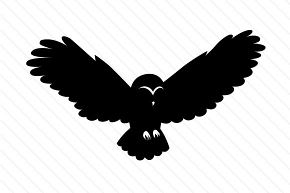 580x386 Owl Silhouettes Svg Cut File By Creative Fabrica Crafts
