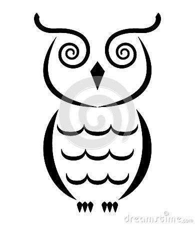390x450 Owl Clipart Outline Many Interesting Cliparts
