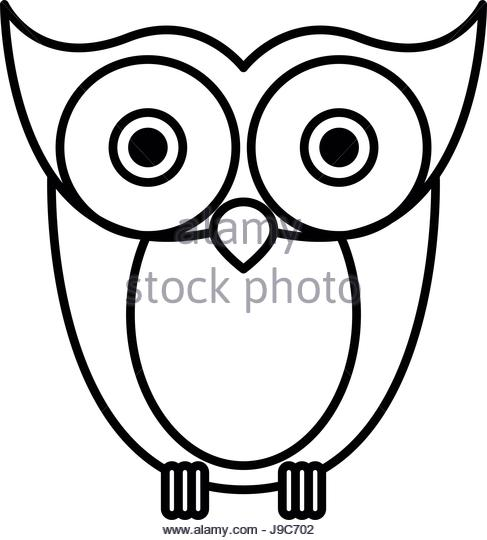 487x540 Owl Sketch Stock Photos Amp Owl Sketch Stock Images