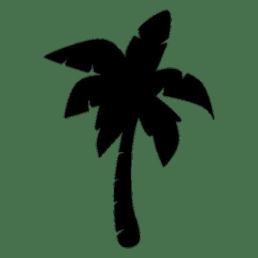 512x512 Silhouette Palm Tree Island