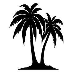 236x236 Simple Palm Tree Drawing
