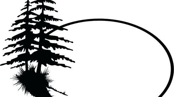 570x320 Tree Outline Clip Art