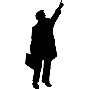 300x300 People Silhouette Clipart