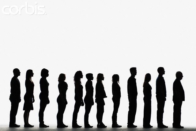 640x427 Standing In Line Clipart