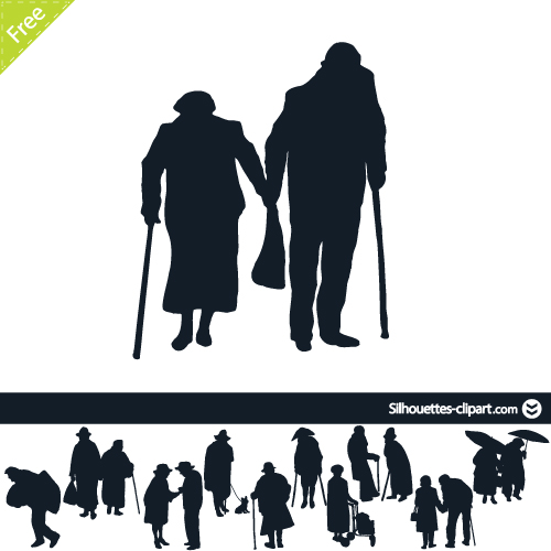 500x500 Older Person Clipart