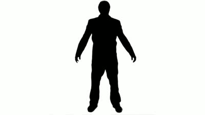 400x224 Business Man Silhouette Royalty Free Vector Image