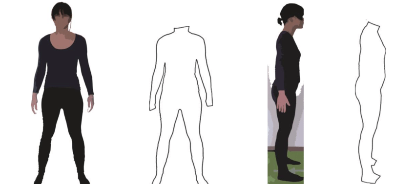 850x378 Figure 7 Converting Images Of A Test Person's Standing Posture