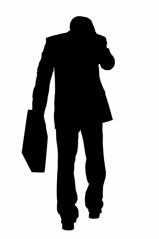 667x1000 Free Silhouette Of Man, Hanslodge Clip Art Collection