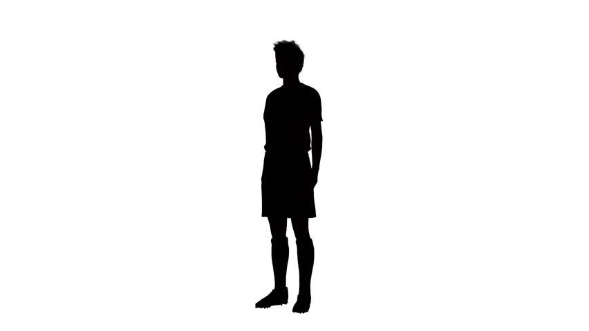 852x480 Silhouette Of Man Walking Stock Footage Video 3005107 Shutterstock
