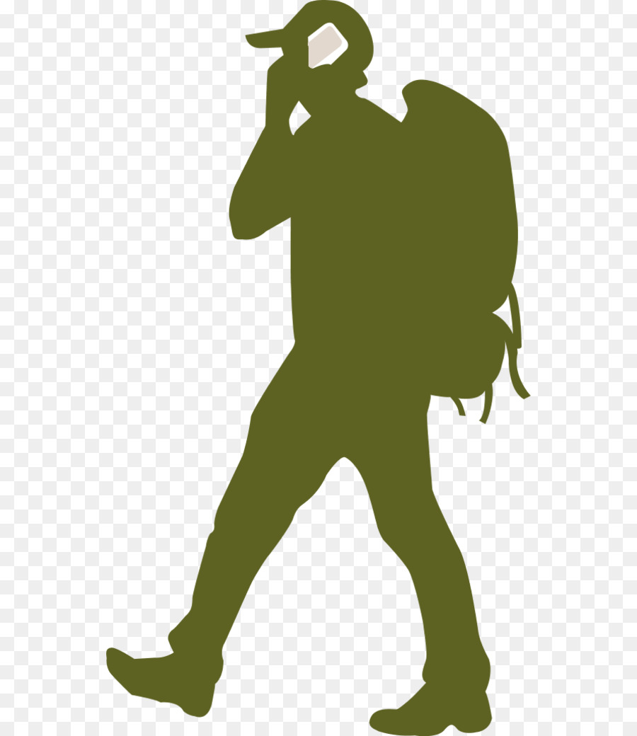 900x1040 Backpacking Silhouette Clip Art