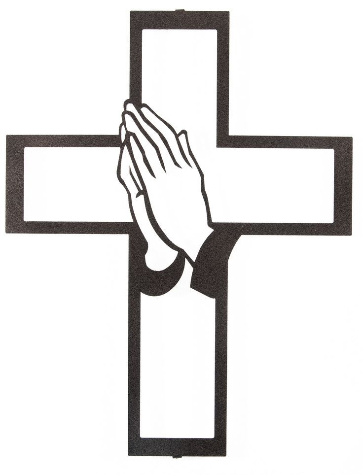 736x964 Image Result For Cross And Praying Hands Silhouette Cross
