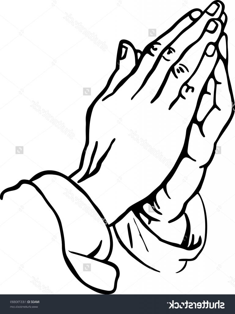 769x1024 Praying Hands Drawing